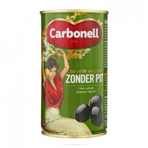 olives no pit in can carbonell